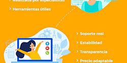 Plataforma e-learning : 13 características de evolCampus